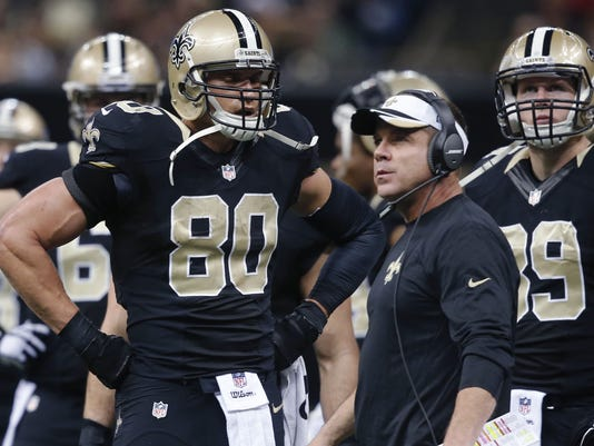 Jimmy Graham, Sean Payton