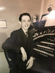 A young Bert Buhrman, working at CBS in New York.