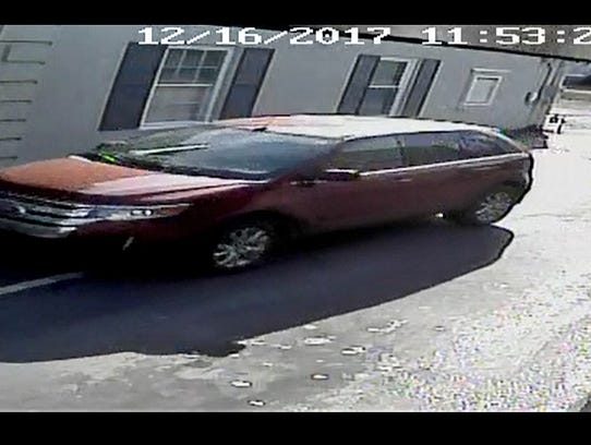 Video surveillance shows an 81-year-old woman being