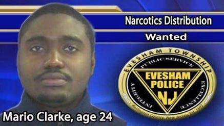 A Philadelphia man is sought for narcotics distribution.