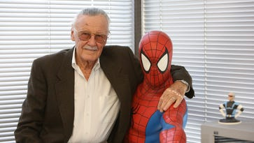 Comic book creator Stan Lee.