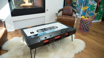 USF grad rewinds time with retro-style coffee table