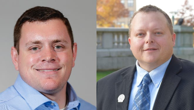 Sen. Patrick Testin and Rep. Scott Krug will hold listening sessions Tuesday in Wood, Monroe and Jackson counties