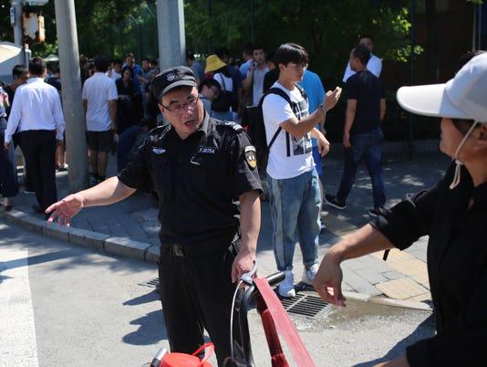 EPA CHINA EXPLOSION CLJ CRIME CHN