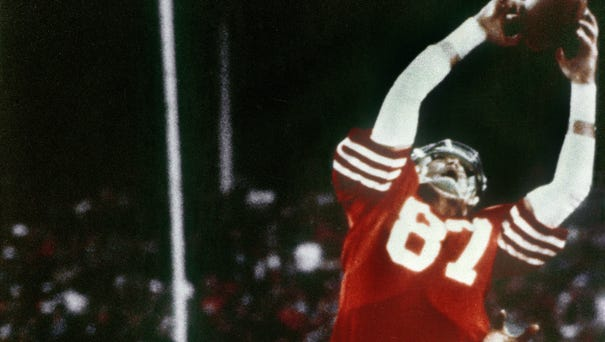 Dwight Clark, who made one of the most famous...