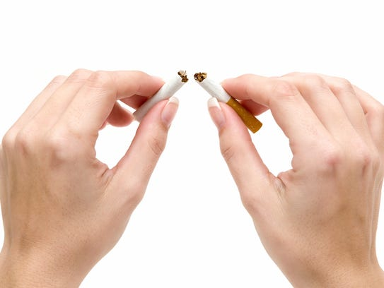Quitting now reduces your risks for lung cancer and