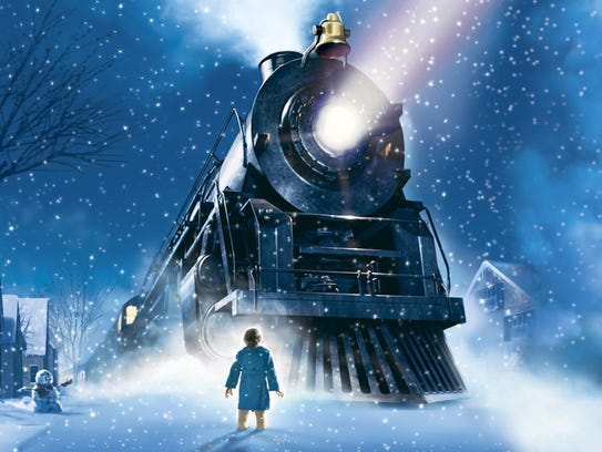 "Free showings of ""The Polar Express"" will take place"
