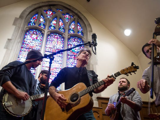 Who Hit John? of Kalamazoo perform as Ypsilanti musician