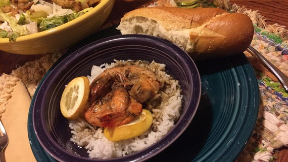 Louisiana-style Barbecue Shrimp is a quick, easy and