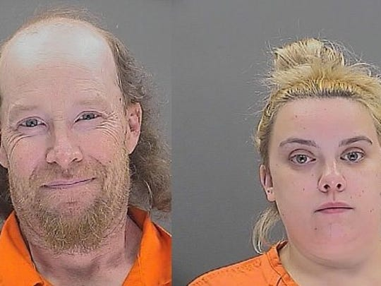 William Herring, 42, and Brianna Brochhausen, 23, have been indicted on murder charges in connection with the death of their four-month-old son last year.