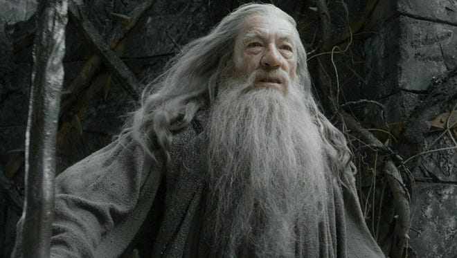 "Ian McKellen in a scene from the motion picture ""The Hobbit: The Desolation of Smaug."""