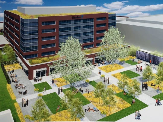 Kindred Healthcare's plans for Theater Square