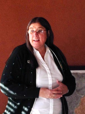Annette Toney, membership manager of the Girl Scouts of the Desert Southwest, told the Silver City Kiwanis Club on Tuesday. Booth sales will begin on Saturday.