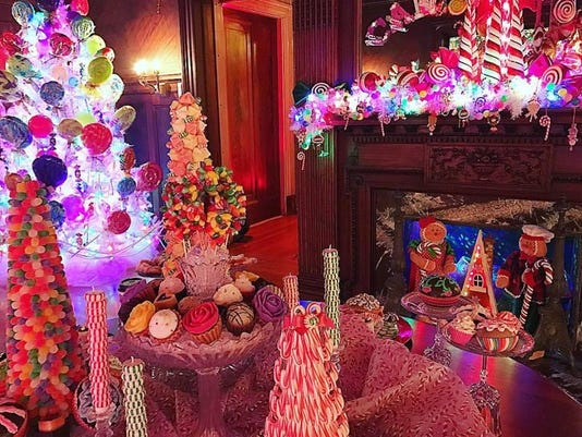 LEDE - Home for the Holidays Candy Land
