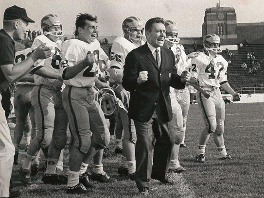 Tubby Raymond in October 31, 1966.