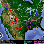 Wet, icy conditions expected Wednesday morning