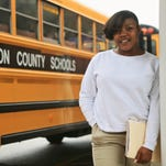 Damiya Tooley, 18, found out she was pregnant while she was a 7th grader. Now the mother of a 4year-old, Tooley has returned to school to get her diploma from Minor Daniels Academy.