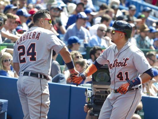 Tigers Blue Jays Baseball