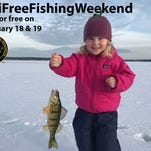 Annual free fishing weekend is here