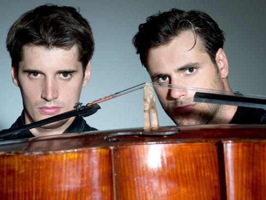 2Cellos perform in Mesa on Saturday, April 9.