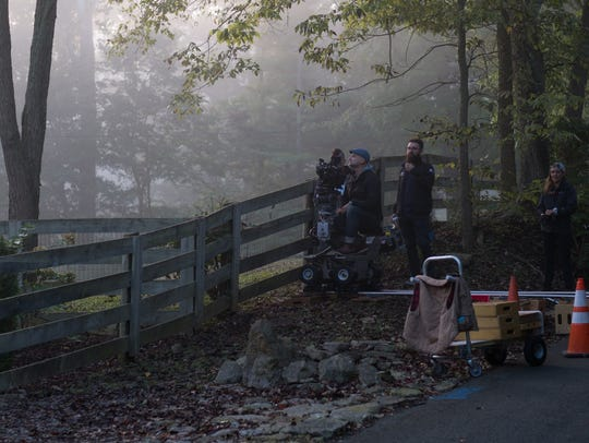 """From the filming of  """"Monumental"""" being shot in Kentucky"""