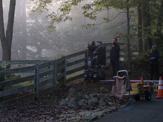 """From the filming of  """"Monumental"""" being shot in Kentucky in 2016."""