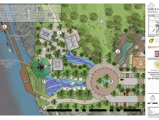 A rendering of the future Riverwalk in Port St. Lucie.