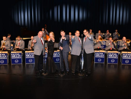 The World Famous Glenn Miller Orchestra today. They