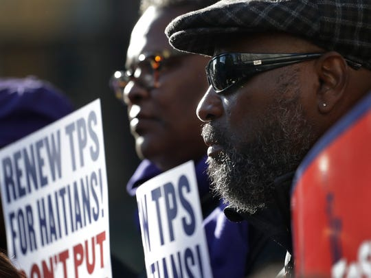 """The Trump administration gave Haitians living in the United States with Temporary Protected Status until July 2019 to return home, a period that it said would allow for an """"orderly transition."""""""