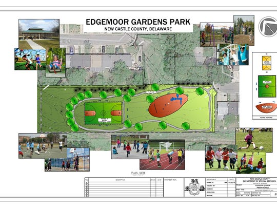 An architectural rendering of the future Edgemoor Gardens