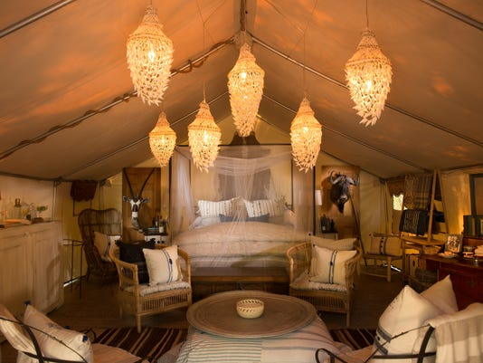 Glamping: Where to camp with all the amenities