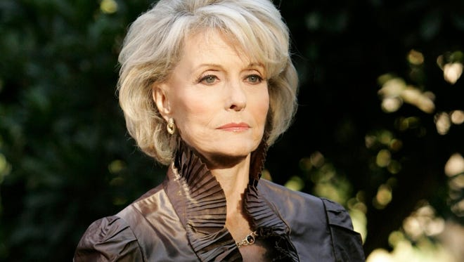 """Constance Towers appears as the vengeful Helena Cassadine on """"General Hospital."""""""