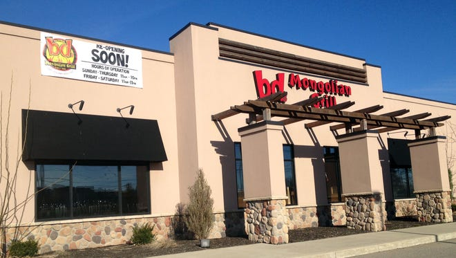 bd's Mongolian Grill plans to reopen April 13 at 8655 Mason-Montgomery Road in Deerfield Twp. after shutting its doors last month.