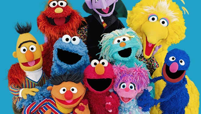 Sesame Street characters children know and love.