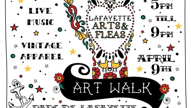 The promo design for April 9 Art Walk