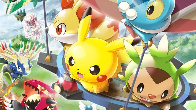 Pokemon Rumble World's package version.