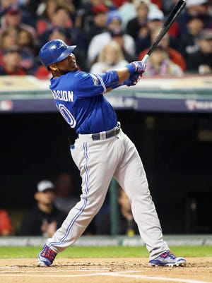 Edwin Encarnacion has averaged 39 home runs and 110 RBI over the past five seasons as a member of the Toronto Blue Jays.