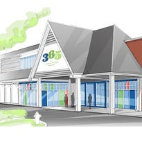 Rendering of the Lake Oswego location of 365 by Whole Foods, opening in July.
