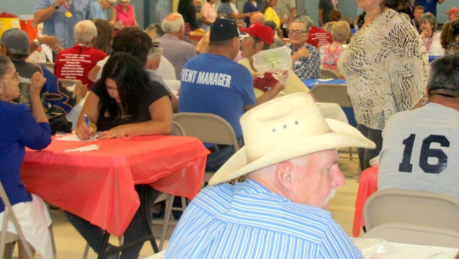 Grant County Senior Olympics held a banquet recently at the National Guard Armory in Santa Clara.