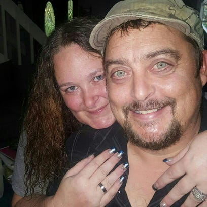 Michael Reed with wife Constance Reed. Constance and