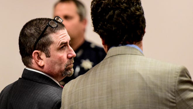 Christopher Davis, 44, of Johnson City, was found guilty Thursday by a jury of murdering 50-year-old Patricia LaCaprara on July 8, 2013.