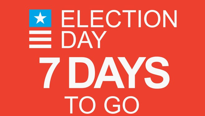 Election Day: 7 days to go