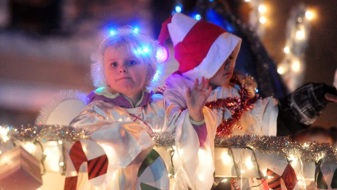This year's annual Parade of Lights gets underway at 6 p.m. Saturday, Nov. 25, in downtown Great Falls.