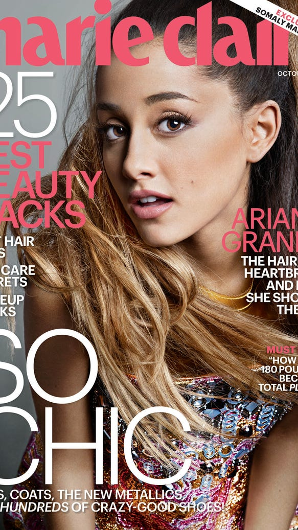 Arian Grande Marie Claire