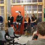 Podcast listening party highlights local startups