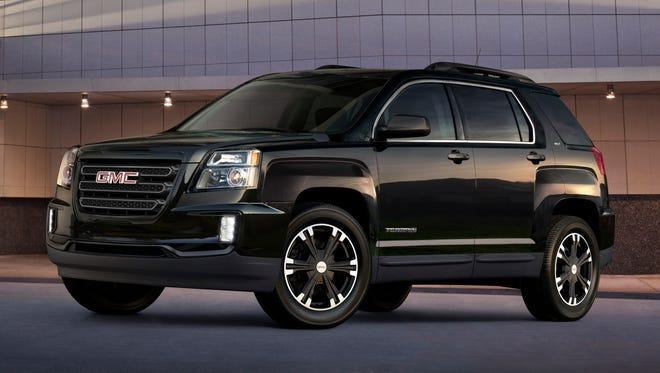 2017 GMC Terrain Nightfall Edition will be on display at the New York Auto Show.