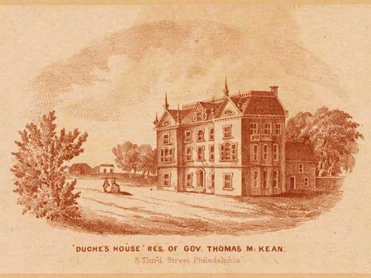The Thomas McKean House (1881 Newark Road, Lincoln University, Pennsylvania).