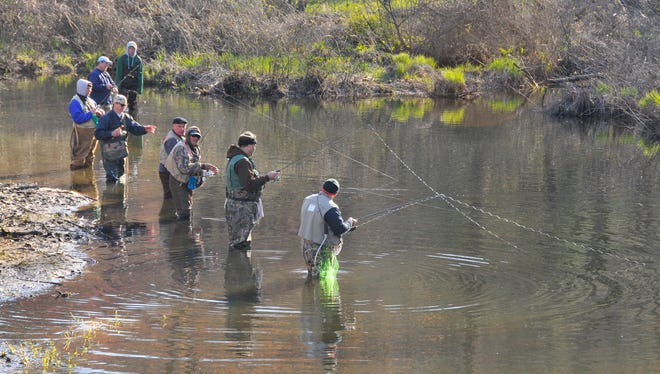 Opening day of trout season is just around the corner.
