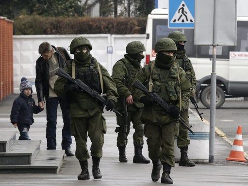 EPA UKRAINE CRISIS CRIMEA