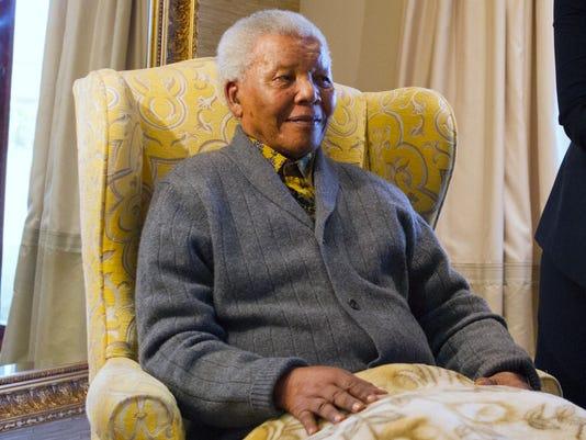 AP Obit Nelson Mandela